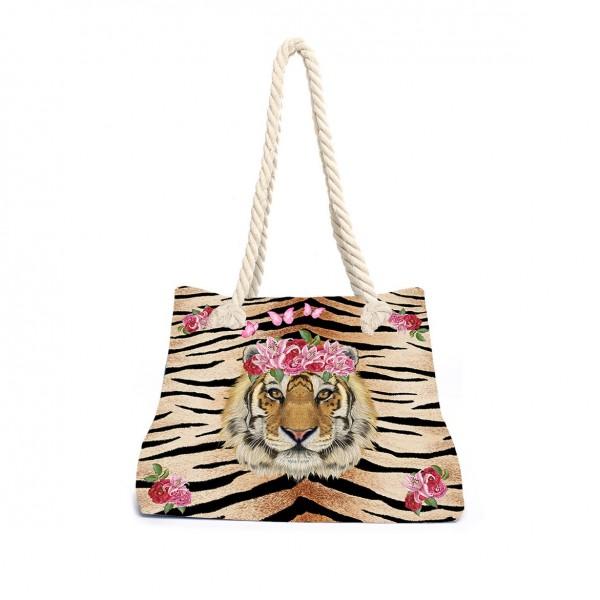 Tiger Lily Beachbag