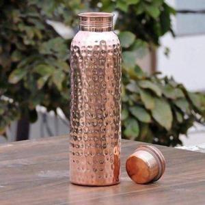 Trinkflasche aus reinem Kupfer 1000ml