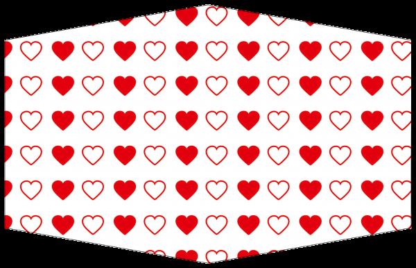 GESICHTSMASKE HEART