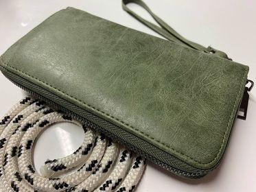 Fashion Wallet Quebeck olive-grün