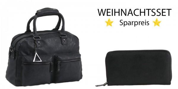 SPARSET Tasche TANGO plus Wallet QUEBECK schwarz
