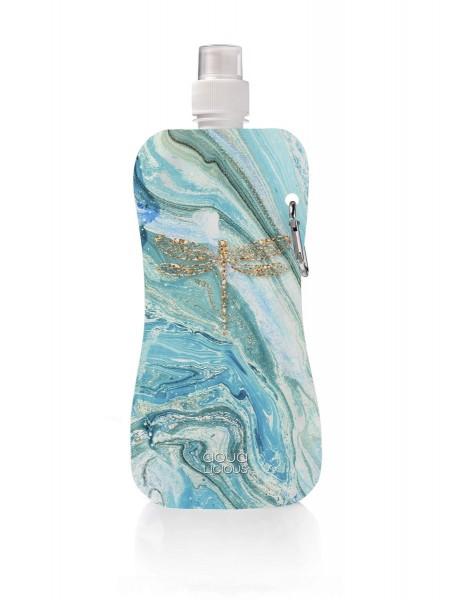 MARBLE DRAGONFLY Wasserflasche