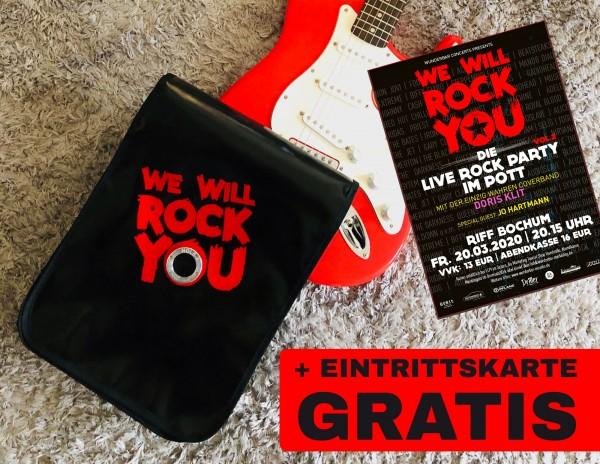 "HOLE-X DELTA inkl. ""We will rock you"" Eintrittskarte"