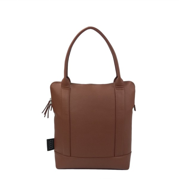 Urban Shopper- Bicycle Bag - Cognac