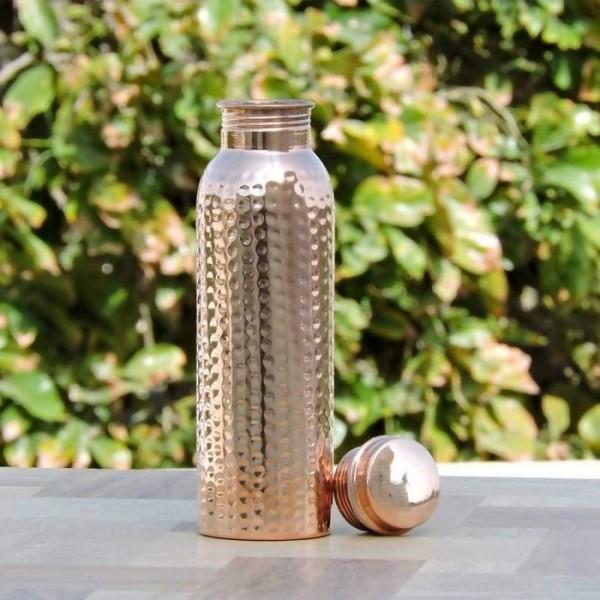 Trinkflasche aus reinem Kupfer 500ml