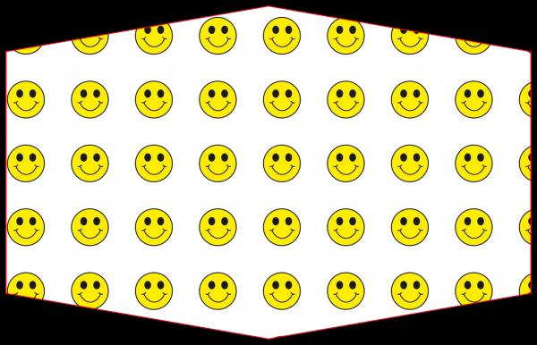 GESICHTSMASKE SMILEY