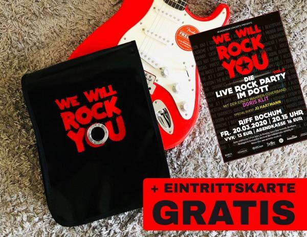 "HOLE-X FOXTROTT inkl. ""We will rock you"" Eintrittskarte"