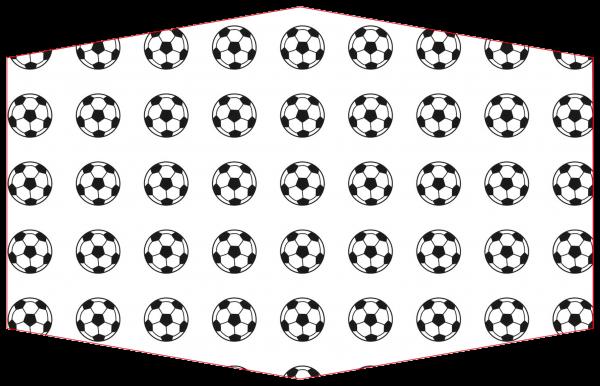GESICHTSMASKE FUSSBALL